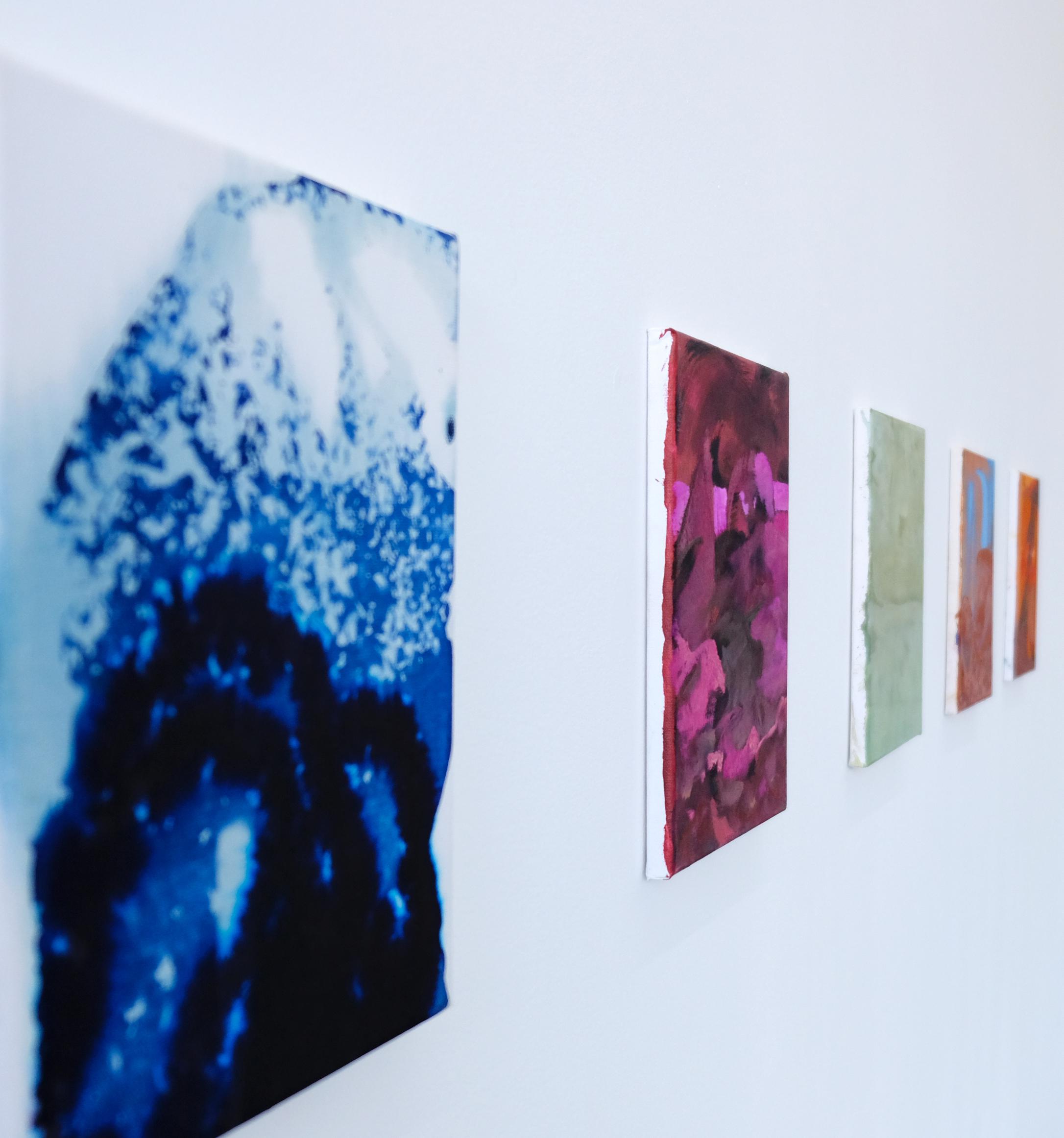 Ausstellungsansicht CROSSEN